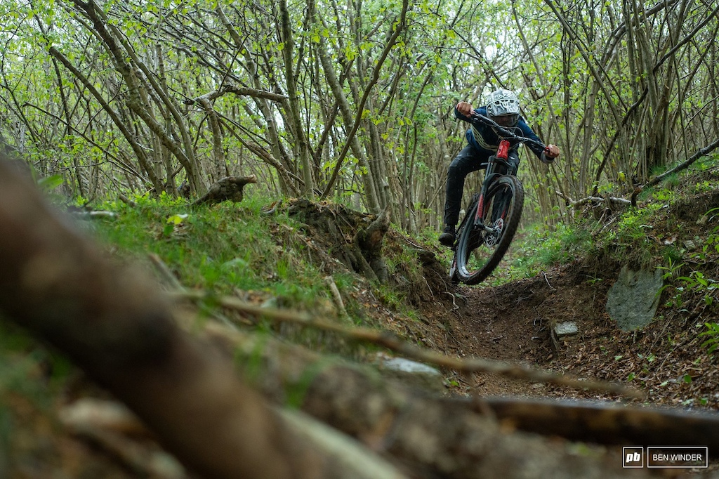 Ghost SL AMR Review - Downhill riding