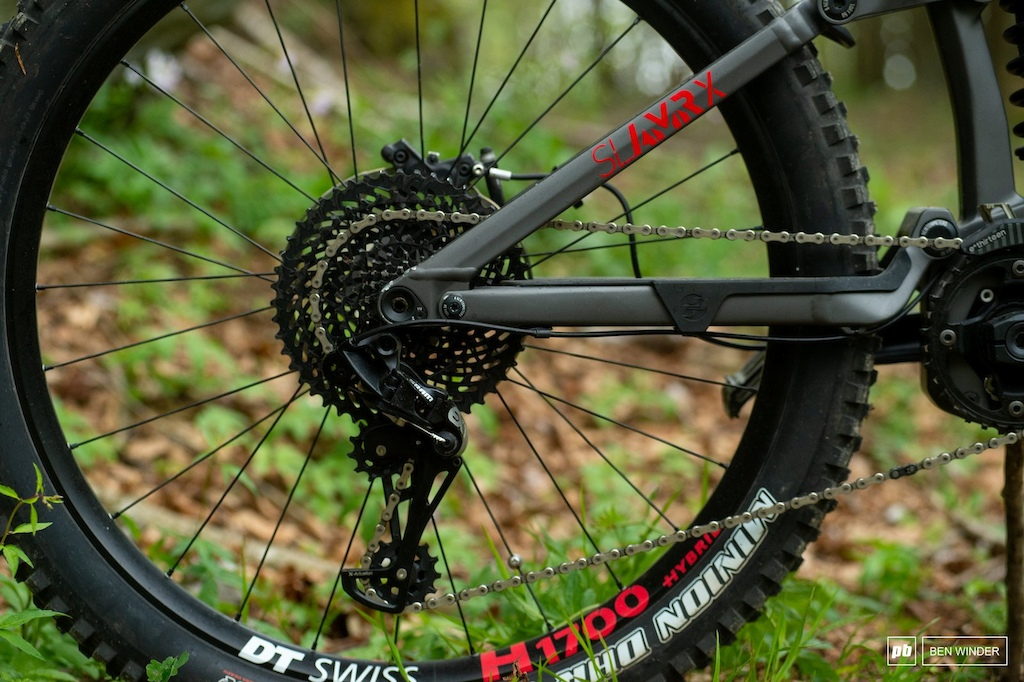 Ghost SL AMR Review - SRAM s EX1 is the only drivetrain choice for eMTB.