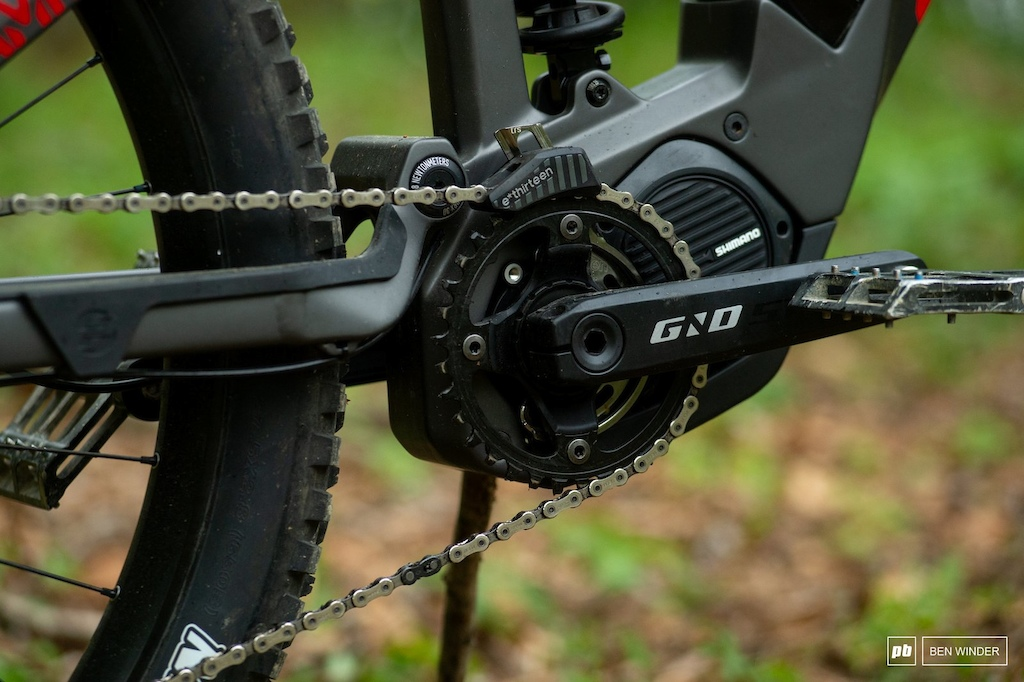 Ghost SL AMR Review - Ghost have specced their own super short 155mm cranks something that aggresive eMTB riders have been asking for.
