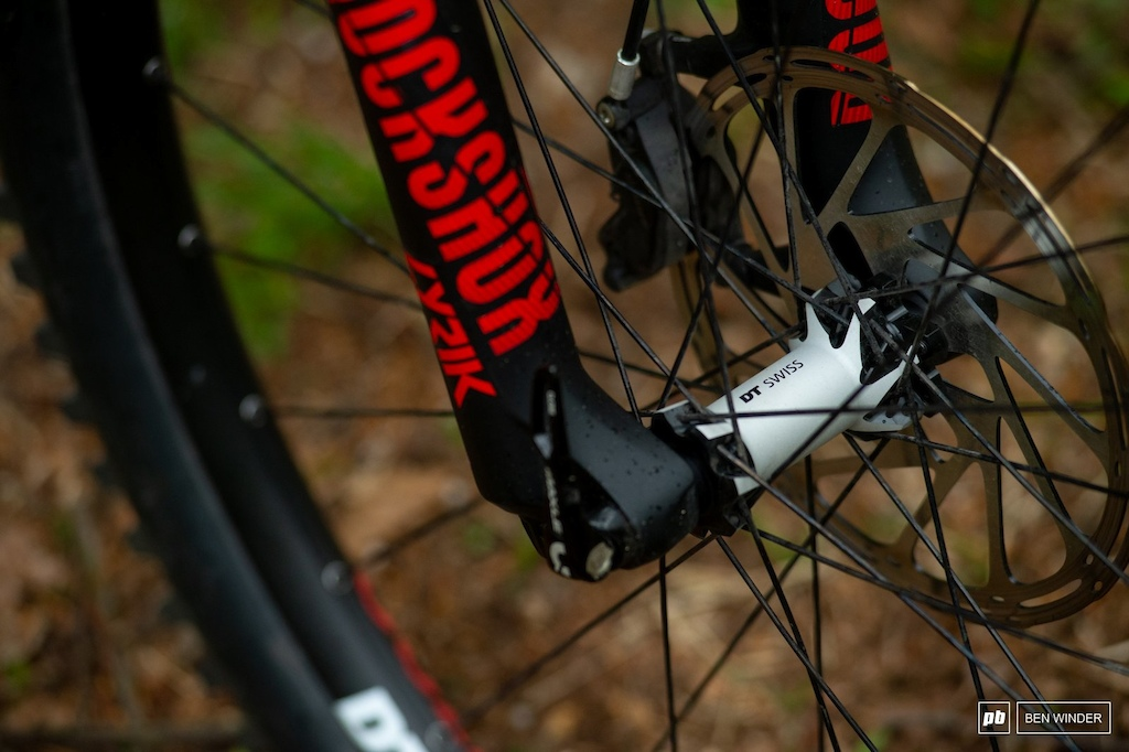 Ghost SL AMR Review - DT Swiss H1700 eMTB specific wheelset