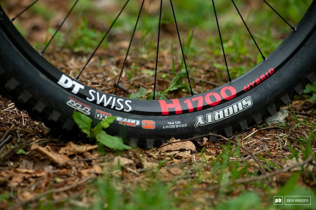 Ghost SL AMR Review - ...30mm DT Swiss eMTB H1700 wheelset