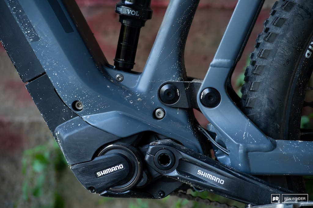 BMC TrailFox AMP Two - Shimano STEPS E800 motor