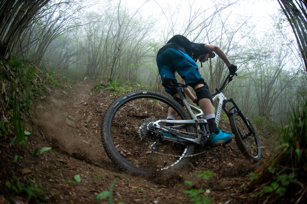 Phil Atwill rides the new Hugene 29""