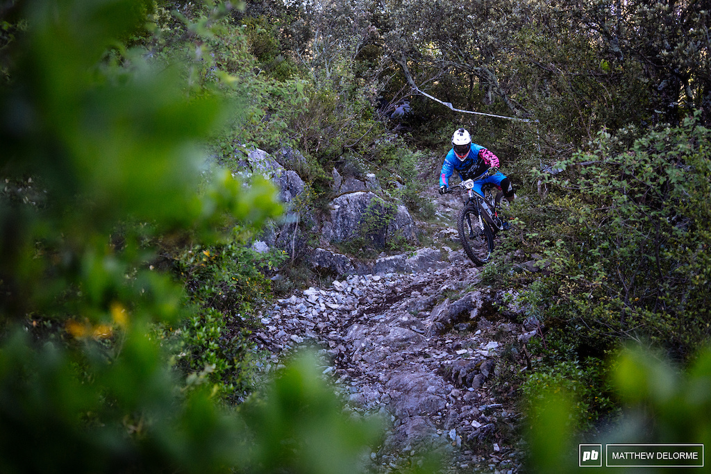 Theo Galy is a podium contender, but he has what it takes to win the race here in France.