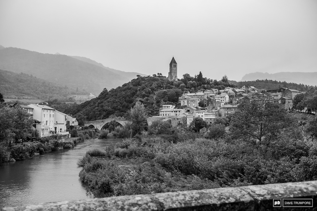 It was a cold and grey day today in Olargues