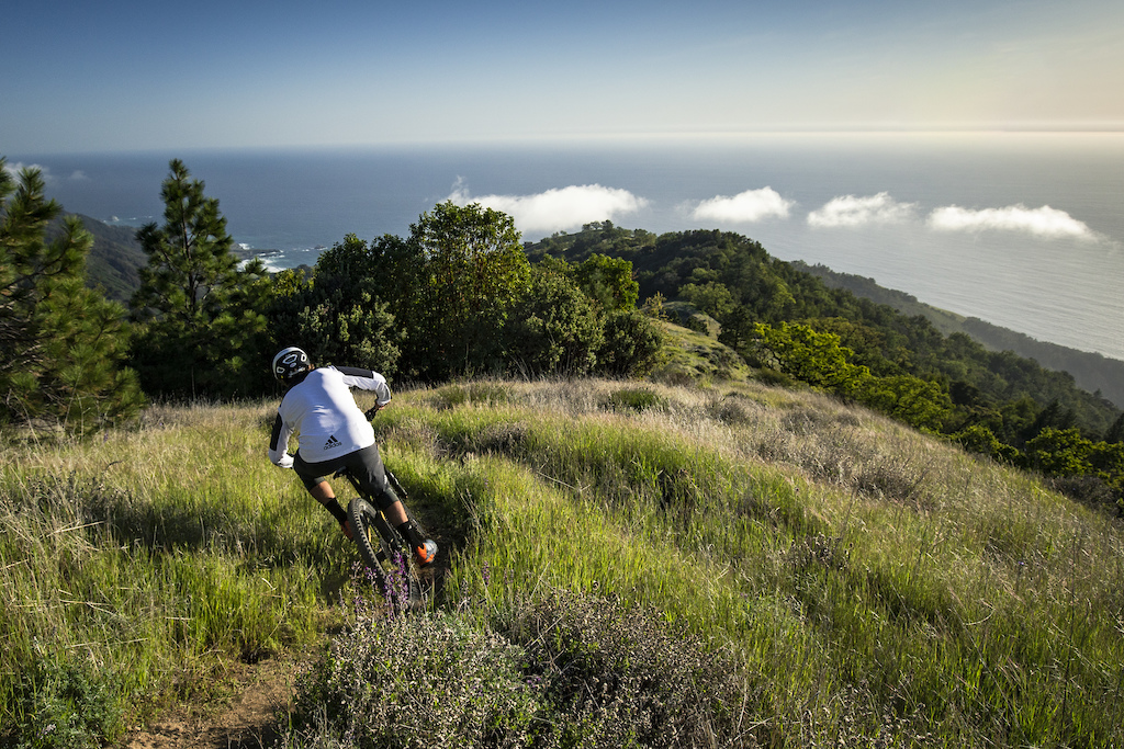 Trail Ripping Ocean Views