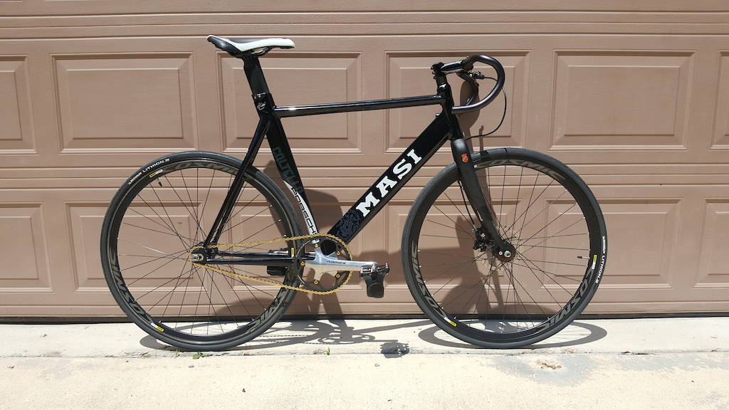 XO brake adapted to fixed gear build