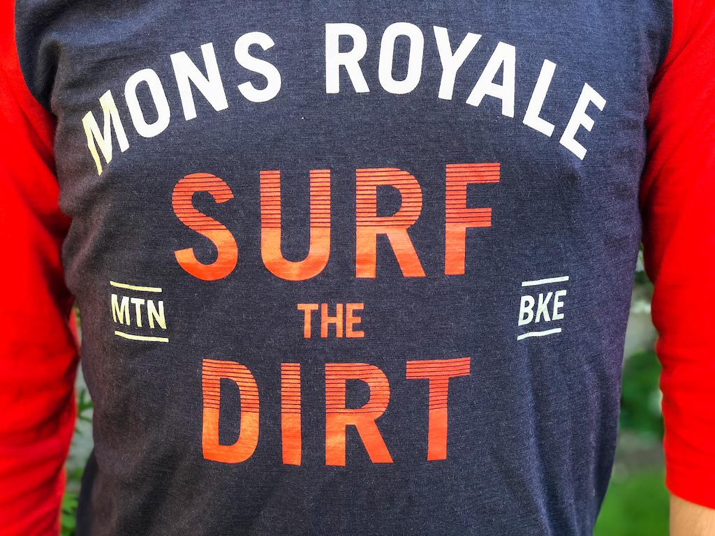Mons Royale Redwood 3 4 Raglan T-Shirt. Photo Alex Evans