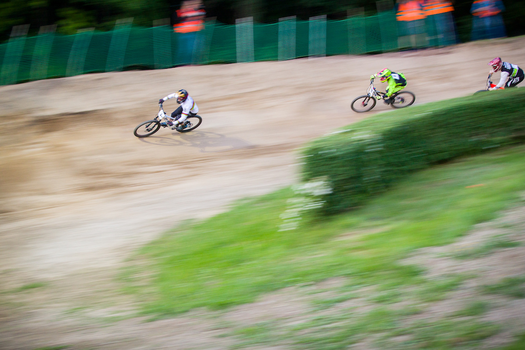 Race day during round 2 of the 2018 4X Pro Tour at , Szczawno Zdroj, , Poland on May 19 2018. Photo: Charles A Robertson