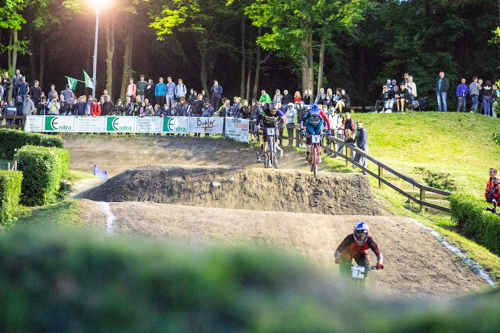 Race day during round 2 of the 2018 4X Pro Tour at Szczawno Zdroj Poland on May 19 2018. Photo Charles A Robertson