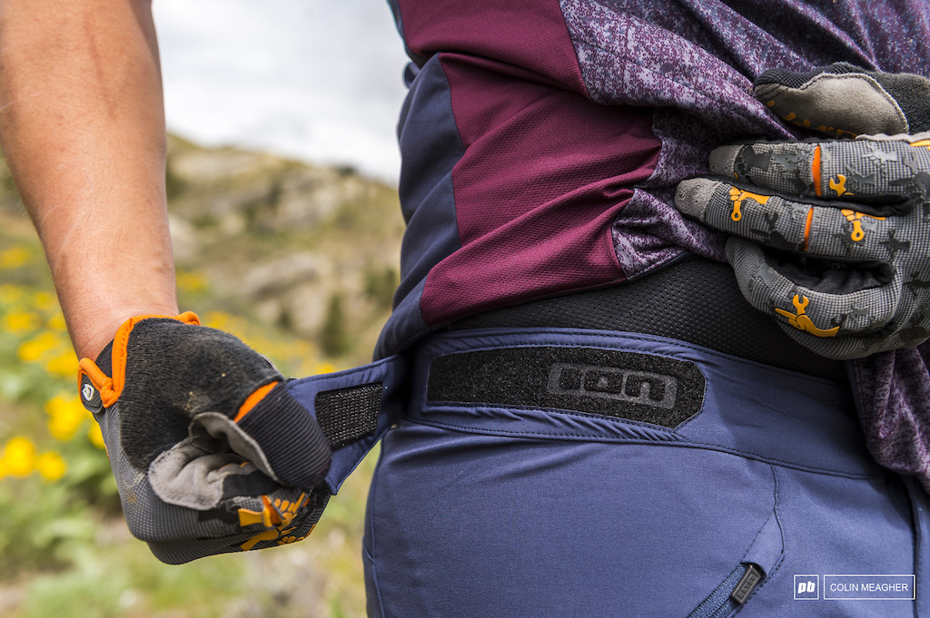 waist tab adjusters check.