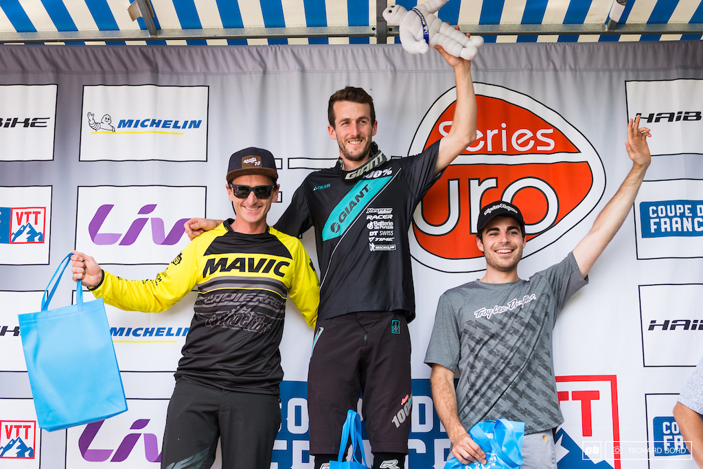 Your E-MTB first ever official Enduro podium.