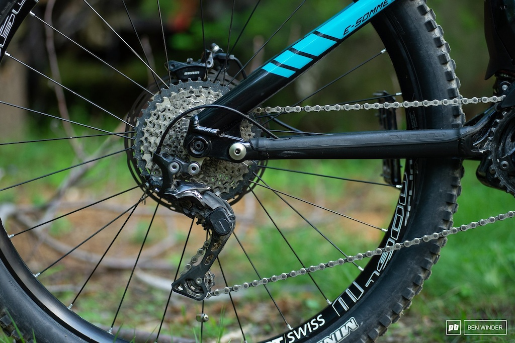 The XT drivetrain still isn t the ideal eMTB option.