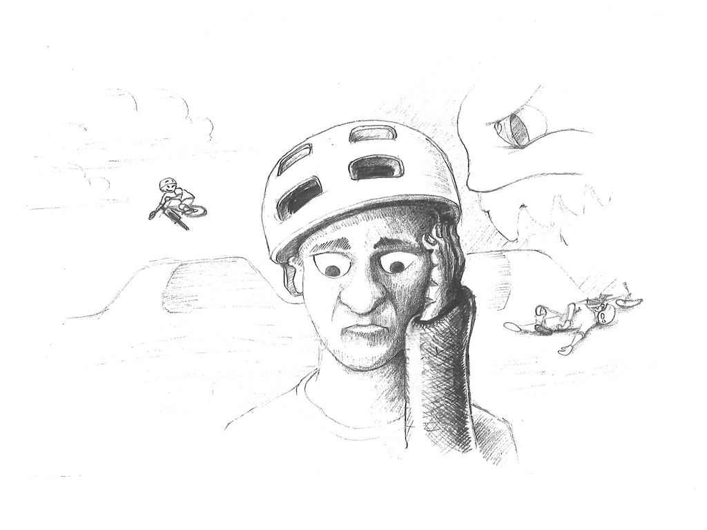 Illustration by Wacek Kipszak Waki for the mental fitness section inside RLC s online course Jump With Confidence - https learn.ryanleech.com p membership