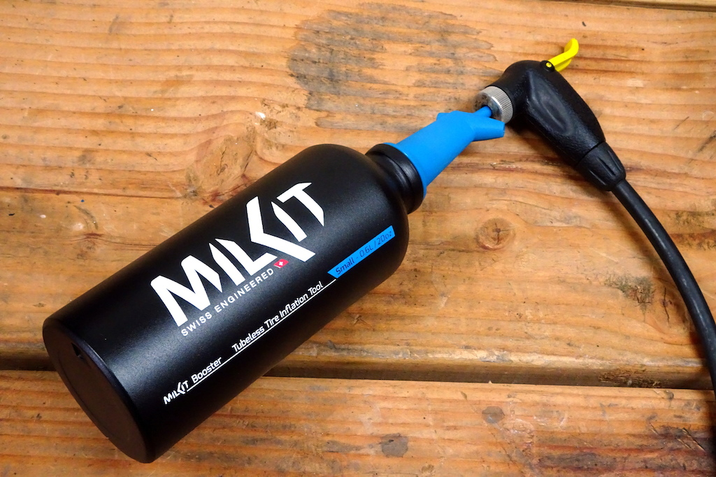 Milkit Booster tubeless inflation system
