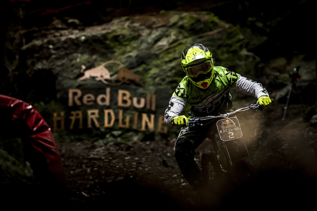 Adam Brayton performs at Red Bull Hardline in Wales UK on September 24 2017 Nathan Hughes Red Bull Content Pool AP-1TB8BU3QW2111 Usage for editorial use only Please go to www.redbullcontentpool.com for further information.