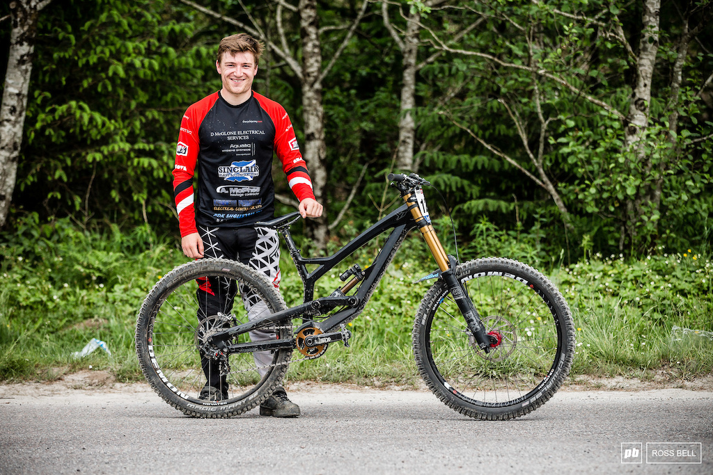 Fraser McGlone from Scotland and his YT Tues.