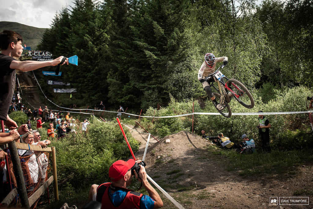 Amaury Pierron layed down a blistering pace to take the win by a scant 0.28 over his fellow countryman Loris Vergier.