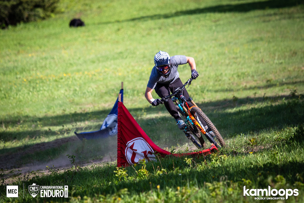 2018 Canadian National Enduro Series - Harper Mountain in Kamloops British Columbia Photograph by Sam Egan Cedar Line Creative more at CedarLineCreative.com