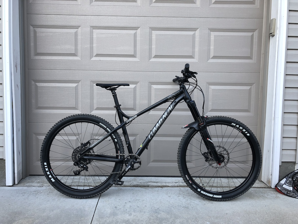 2017 Commencal Meta HT AM Essential with upgrades