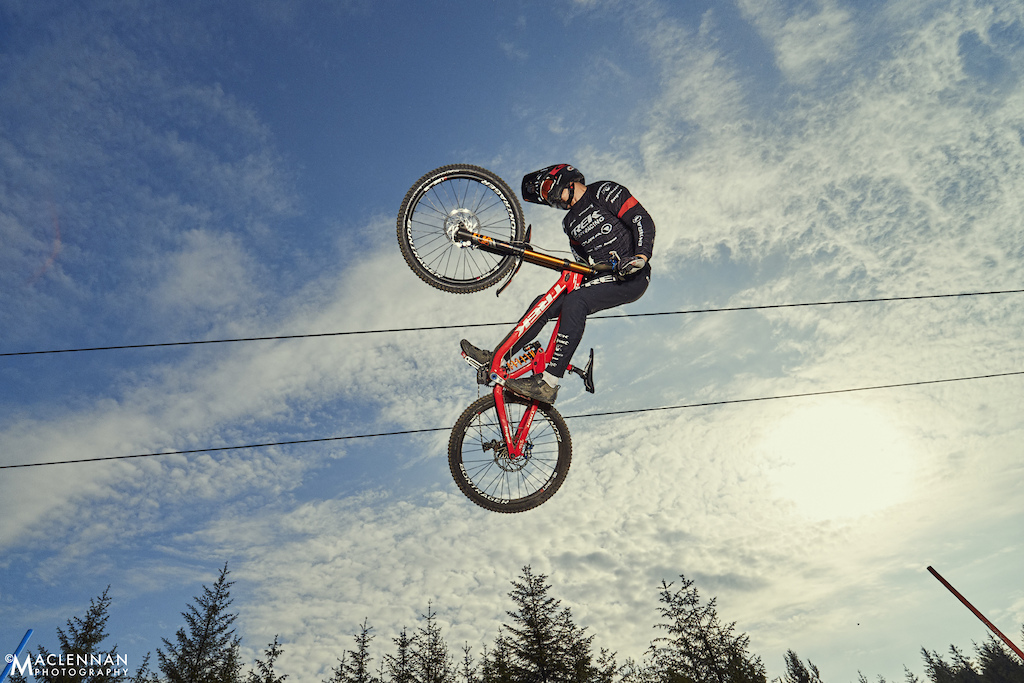 Fort William UCI World Cup - June 2018; Copyright Ian MacLennan 2018.