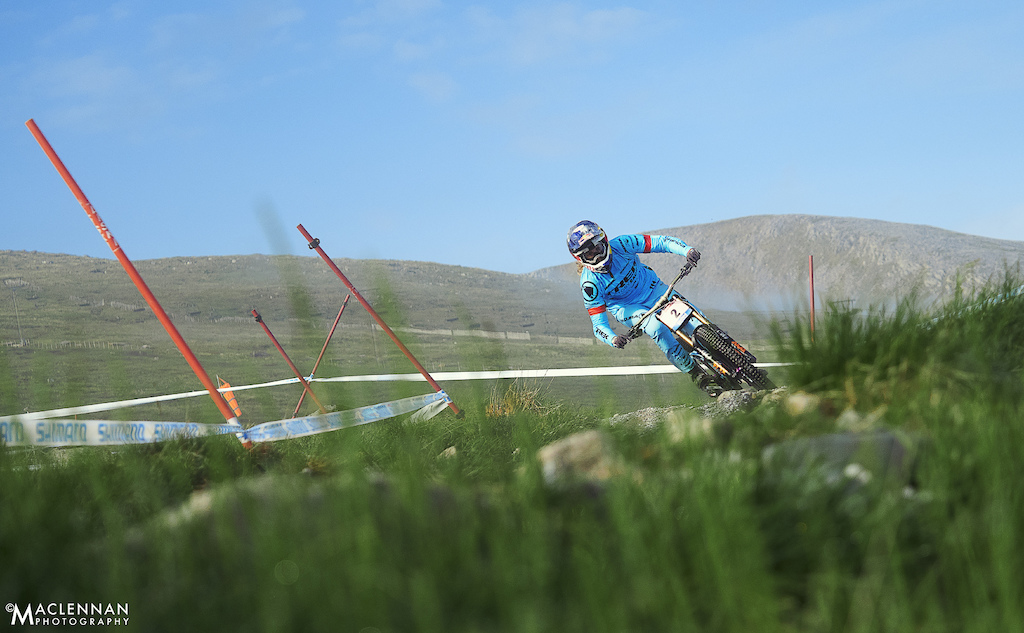 Fort William UCI World Cup - June 2018 Copyright Ian MacLennan 2018.