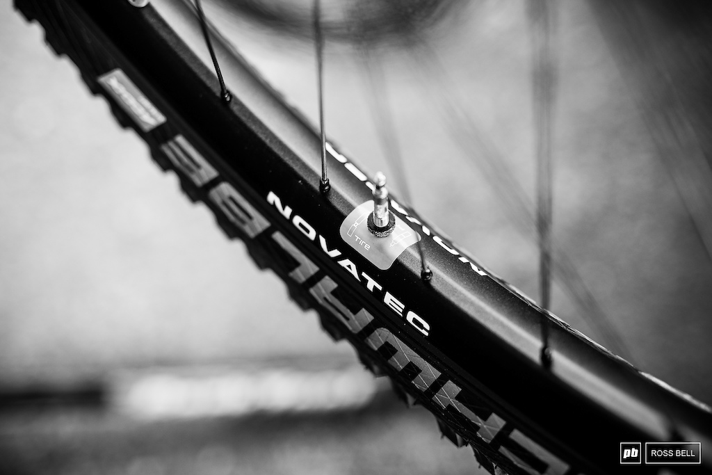 All the Norco boys are running Schwalbe s Procore front and rear.
