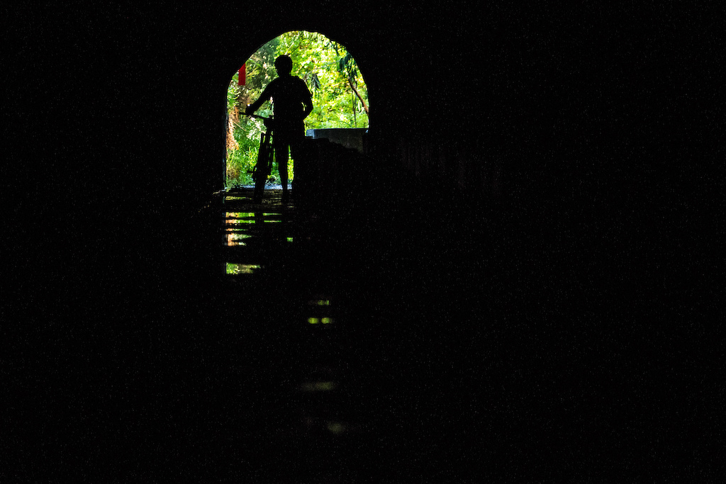 A transition taking in two levada tunnels was quite the change.