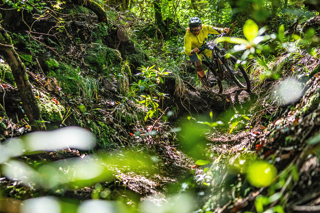 The tropical forests of stages 3 and 4 today had all the riders stoked.