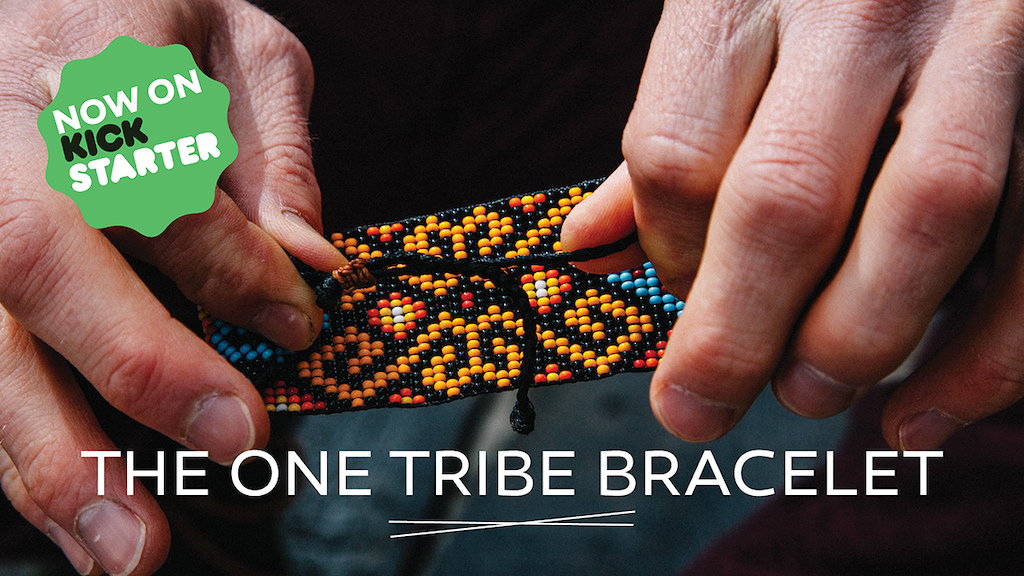 The One Tribe Bracelet available on Kickstarter now until June 18th