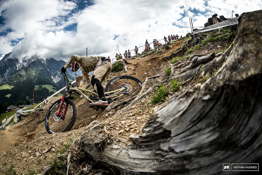 Amaury Pierron has arrived and no doubt he'll be at the sharp end of downhill for years to come.