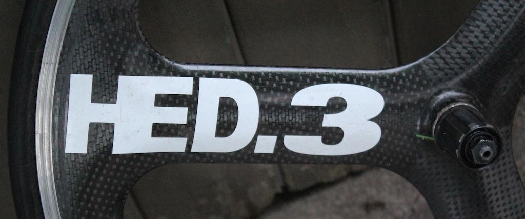 0 -2315- HED.4 650c Carbon Wheelset Triathlon Road