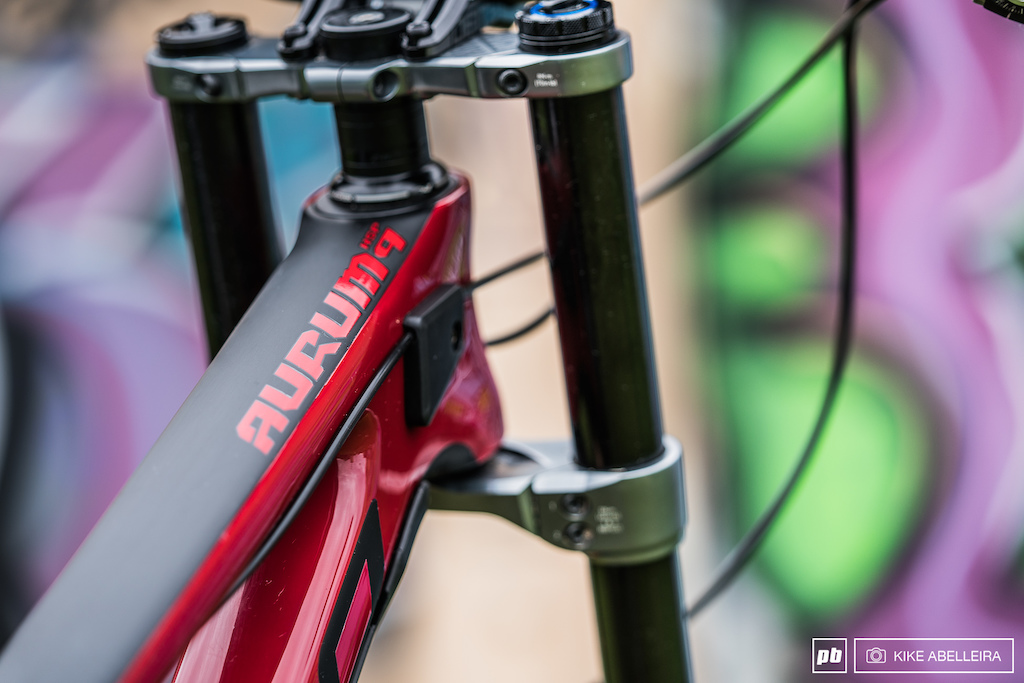 Norco Aurum HSP Review - low stack height loads of spacers