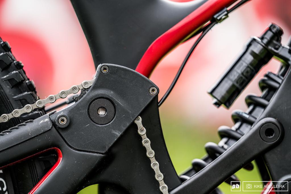 Norco Aurum HSP Review - idler wheel