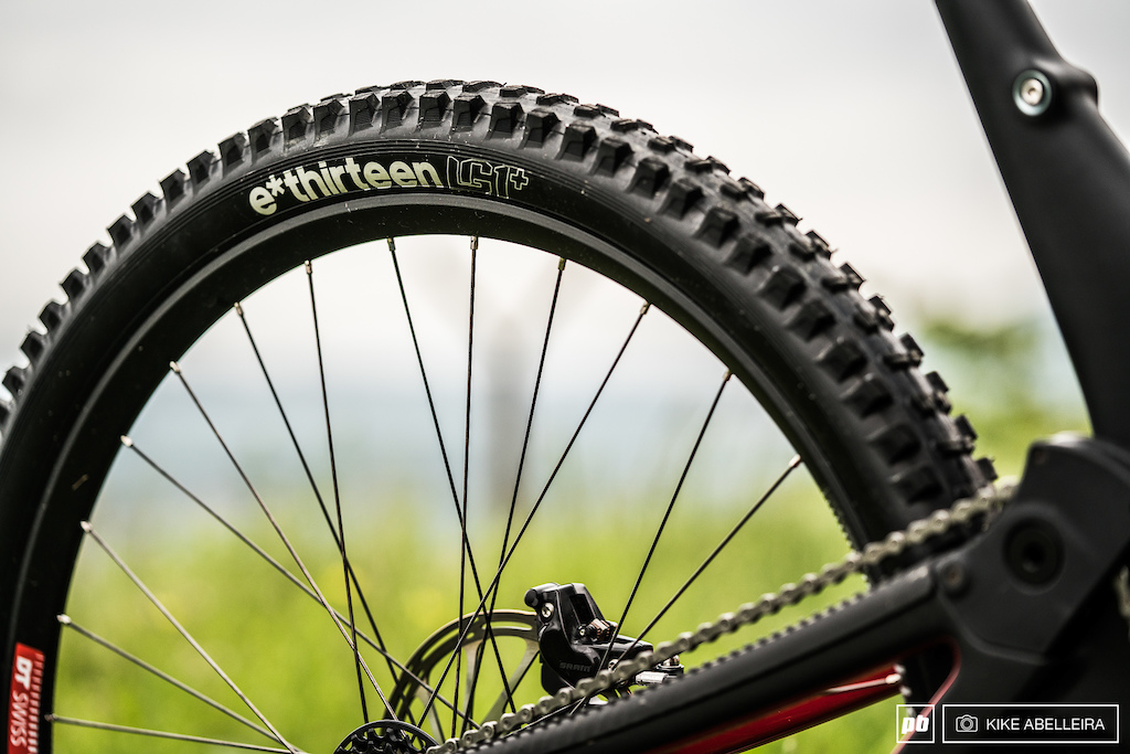 Norco Aurum HSP Review - E13 LG1 control tires