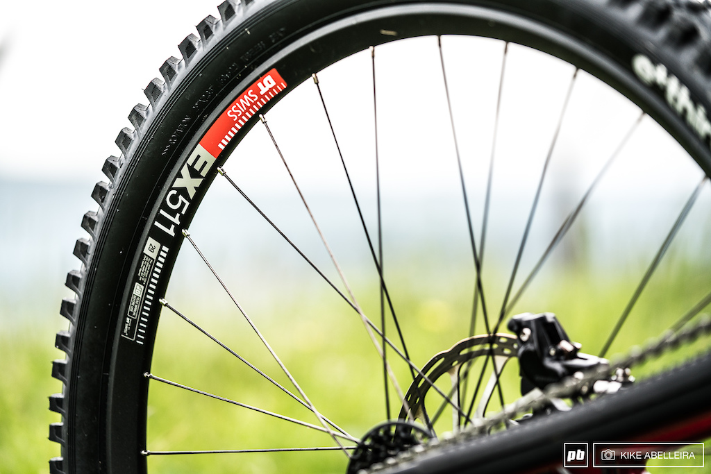 Norco Aurum HSP Review - EX511 rims from DT Swiss