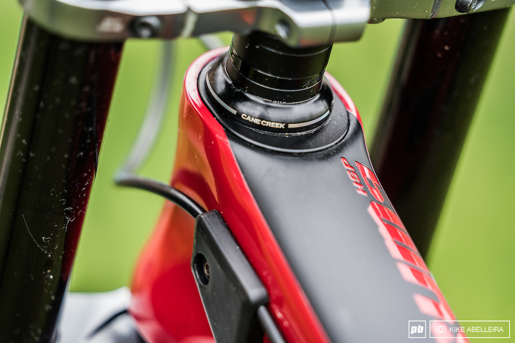 Norco Aurum HSP Review - integrated and easy to change reach adjustment - 10mm