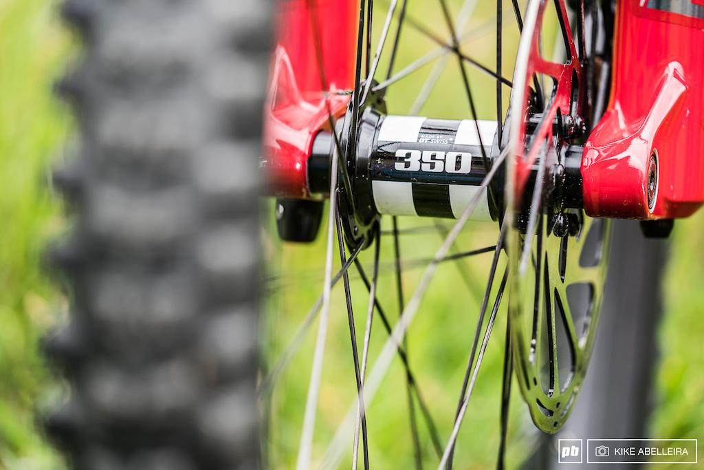 Norco Aurum HSP Review - DT Swiss 350 hubs