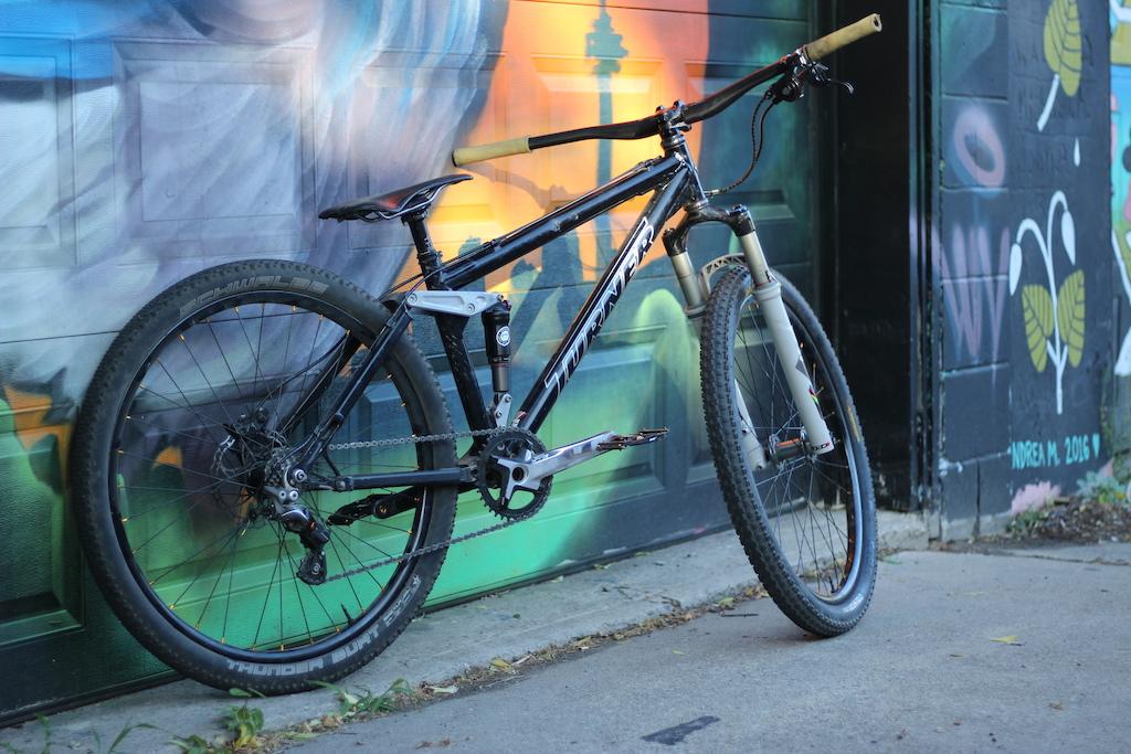 2005 Turner 4X, 21.5lbs/9.7kg