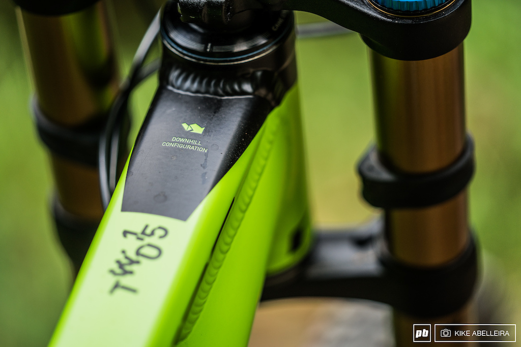 Cube Stereo DH 29 Review - downhill configuration