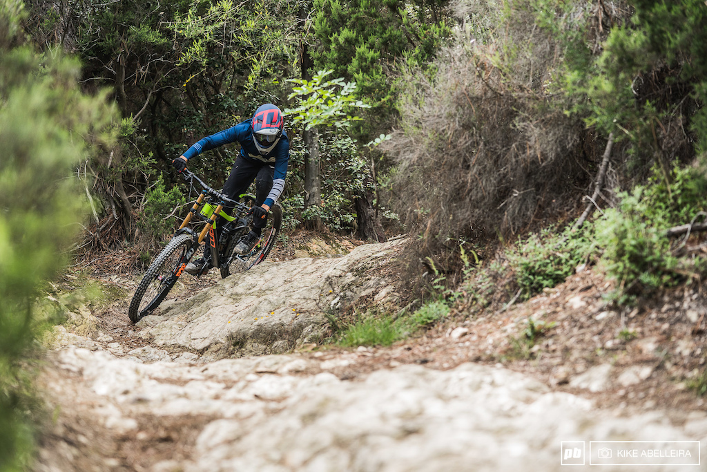 Cube Stereo DH 29 Review - riding