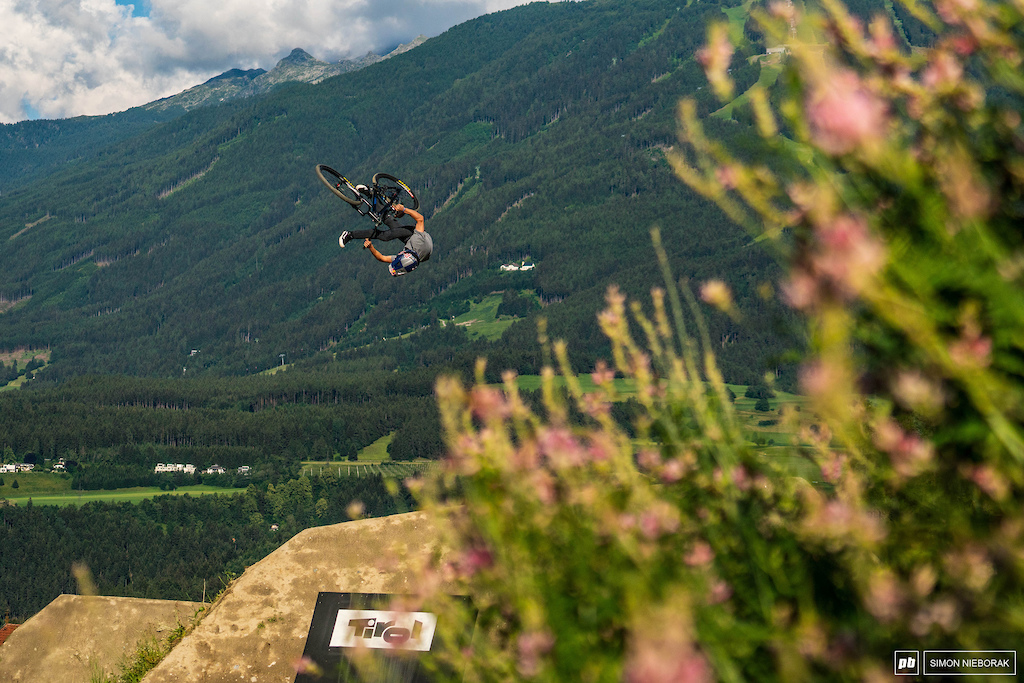 Anthony Messere flying high since Crankworx Whistler 2011.