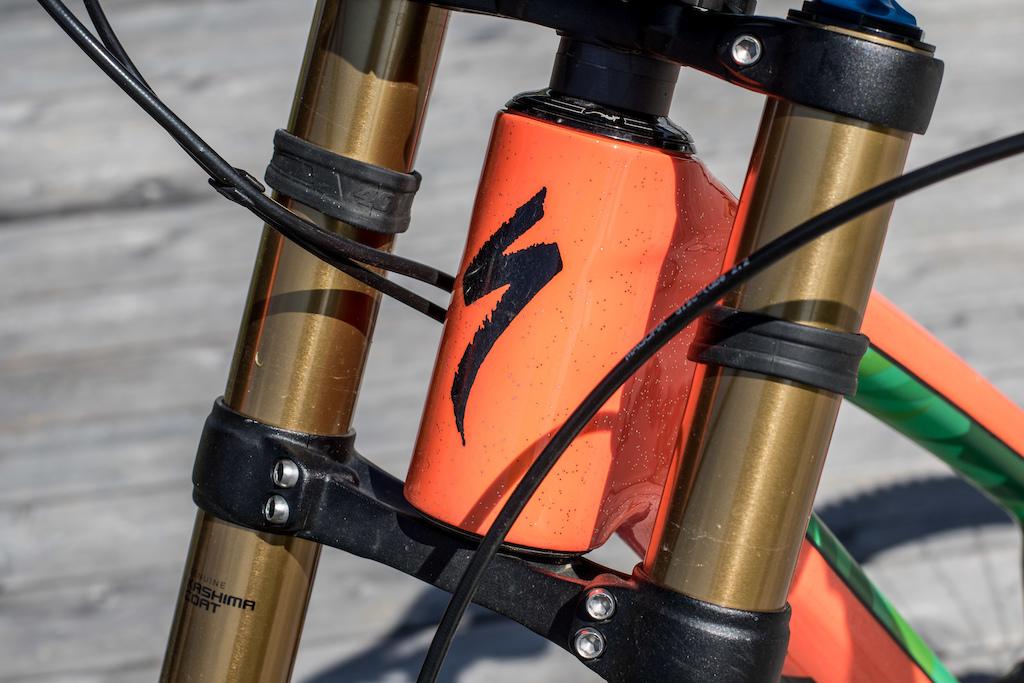 2e5562fe902 Bike Check: Fabio Wibmer's Specialized S-Works Demo 8 - Crankworx Innsbruck  2018