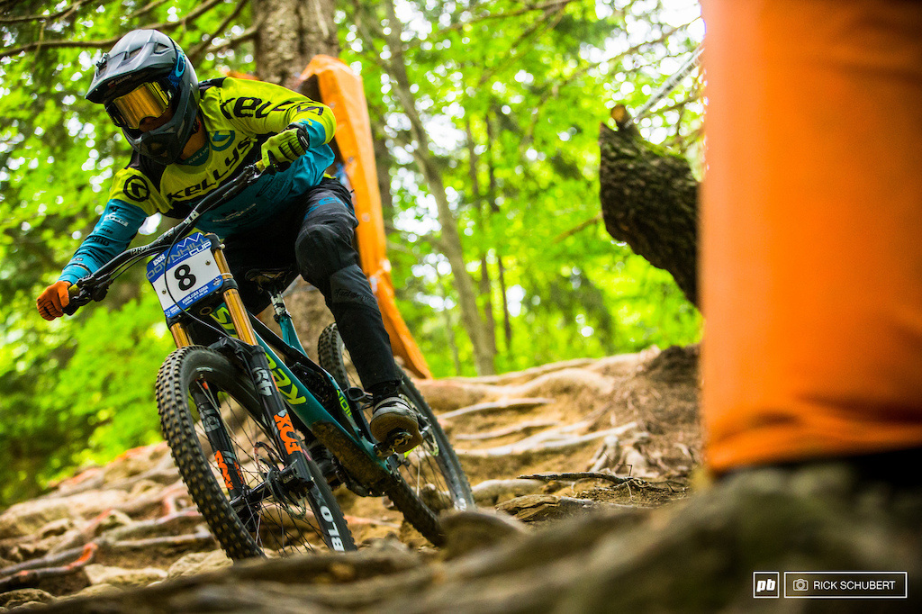 Rasto Baranek had huge moment in the technical woods but rode it out into 20th