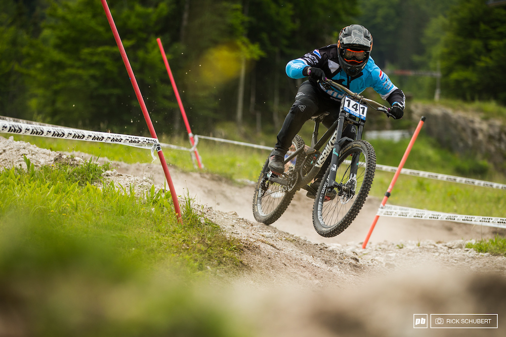 Trsitan Botteram wasn't just the fastest U19 male rider, he was fastest overall on saturday. His final run would have put him into 8th in the elite