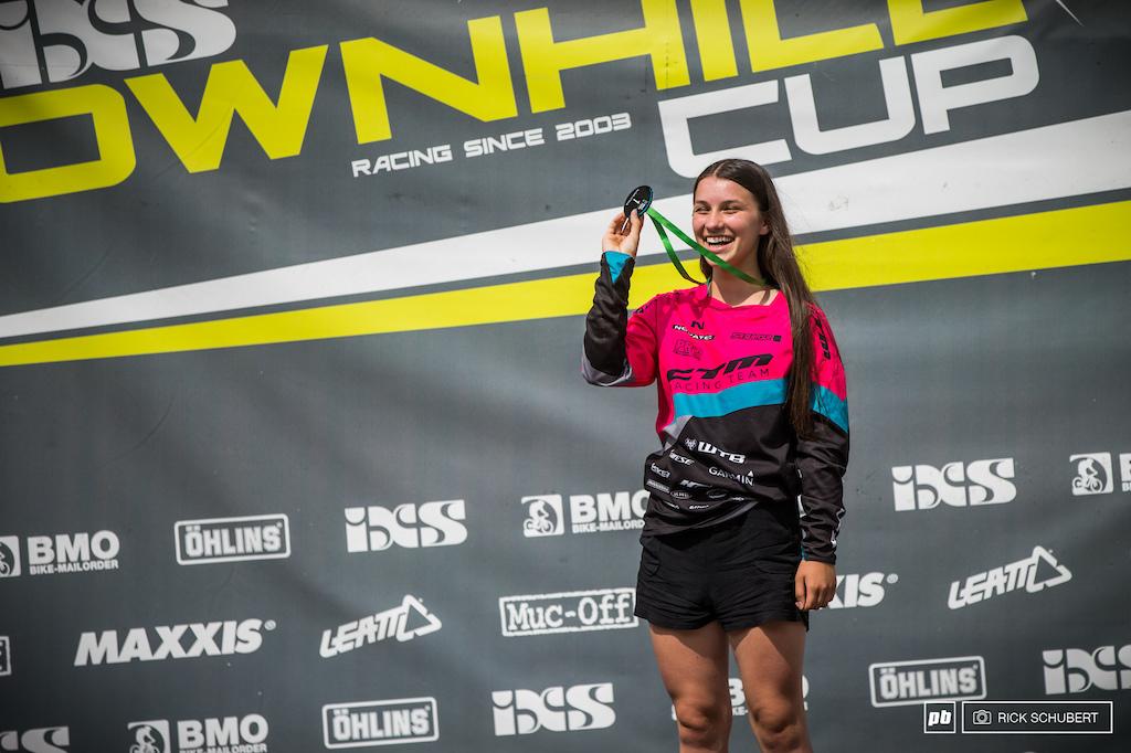 Vilma Gombalova won the Pro U17 female category