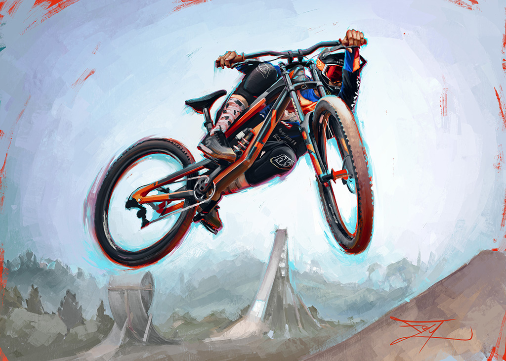 Cam Zink Original reference photo by Ale Di Lullo www.frygallery.com