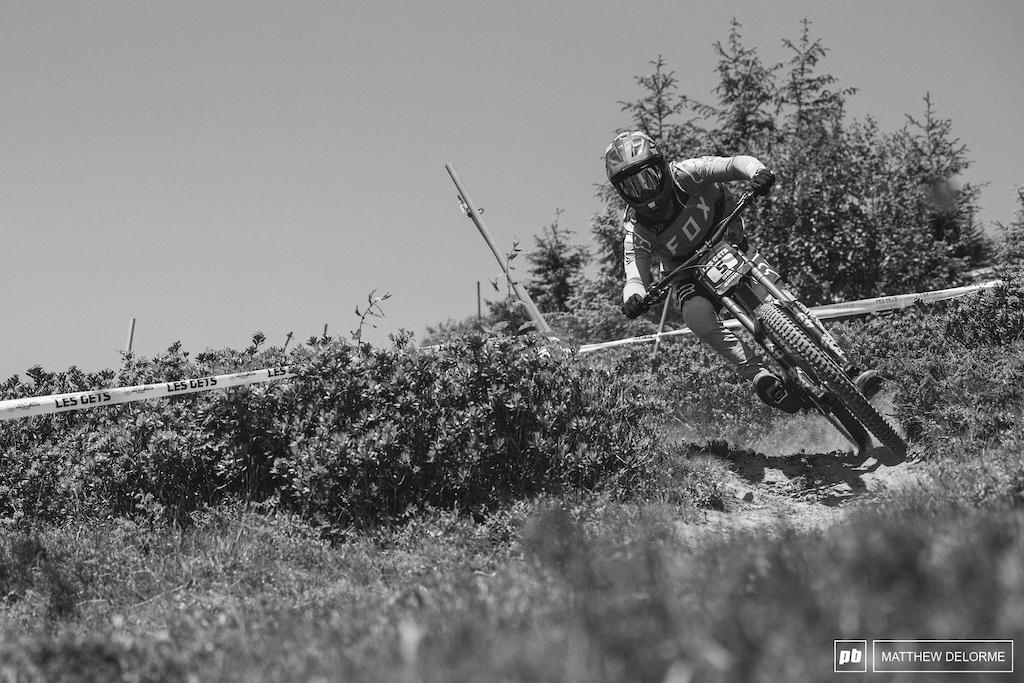 Loris Vergier rode to third place today.
