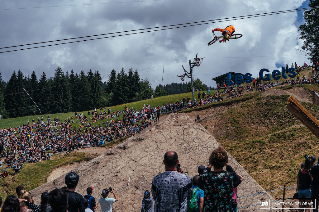 With the win in hand, Nicolai sends it anyway on run number two.