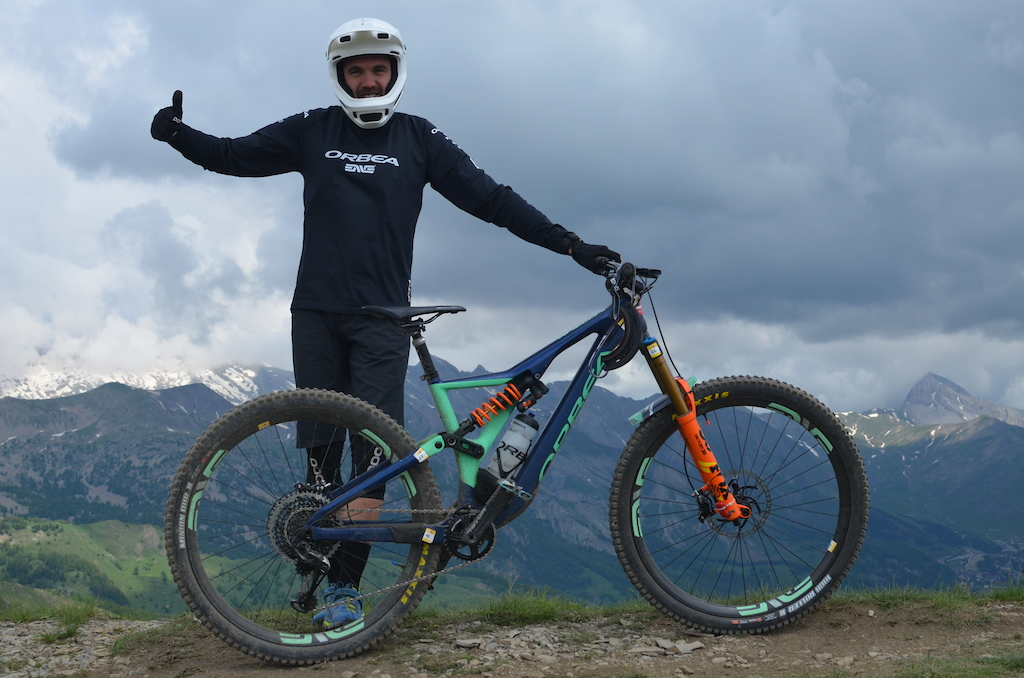 TLAP grabbed 1rst overall and first ever French Enduro Champion. Faster and faster each day on his Orbea Rallon